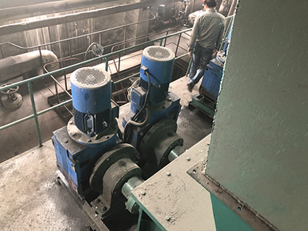 Feed system in front of furnace of Jinjiang Group (Zhuji Bafang Thermal Power Co., Ltd.)