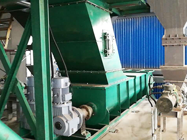 Feeding system in front of furnace of Shengyun group (Fuxin Zhongke)