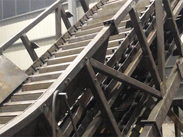Application of chain plate conveyor in Zhuji Bafang power plant