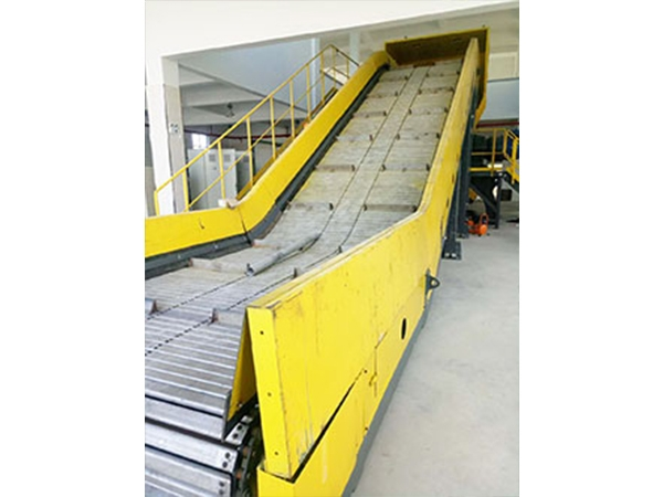 Feeding machine for large decoration waste disposal board